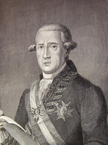 """""""D. José Moñino, conde de Floridablanca""""."""