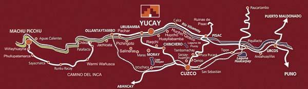 Peru Plano posada_yucay