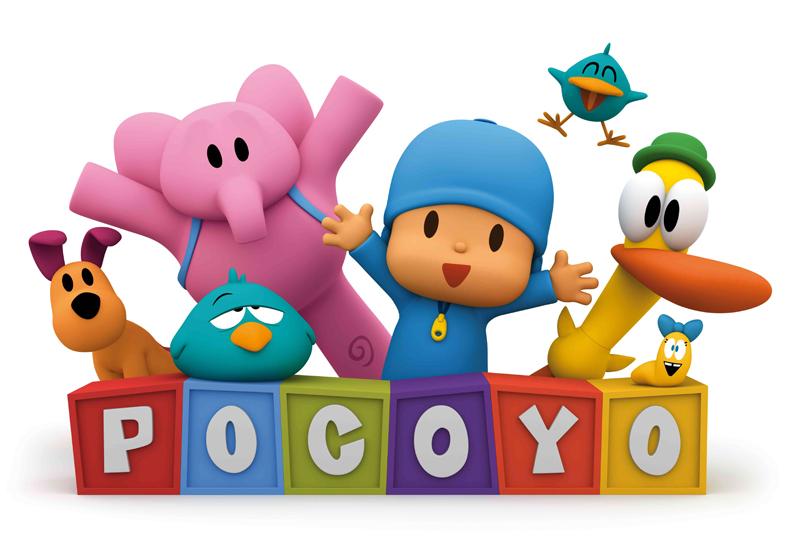 Pocoyo logo letras peq