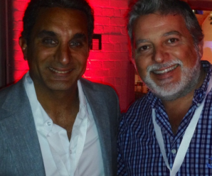 Con Bassem Youssef