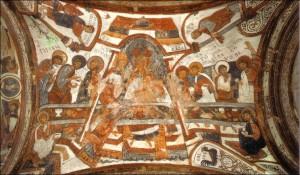 Ultima Cena en el Panteón Real de San Isidoro