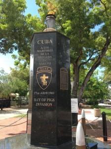 Monumento a los caídos en Bahia Cochinos