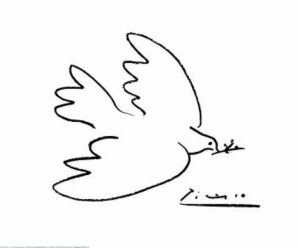 Paloma de la paz Picasso